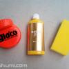 油膜・被膜・ガラスコート剤が手早く落とせるキイロビン ゴールド